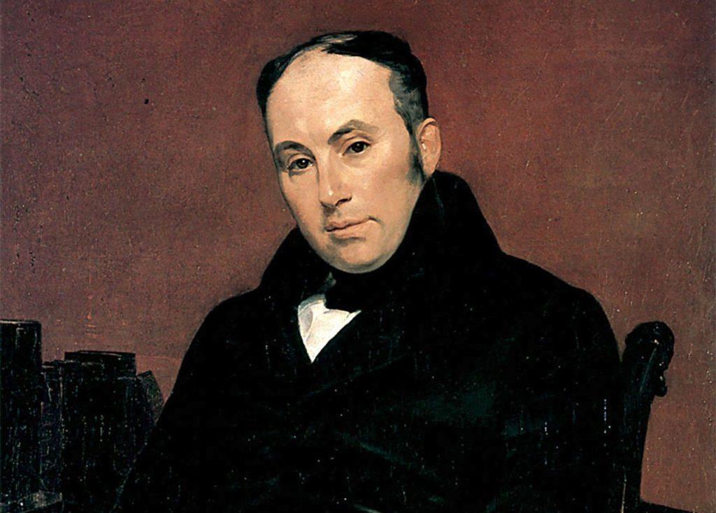 Портрет В.А. Жуковского,  1838 г.